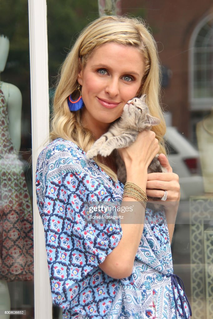 Nicky Hilton Rothschild attends the Roller Rabbit Charity Shopping Event to benefit Animal Haven, on August 12, 2017 in East Hampton, New York.