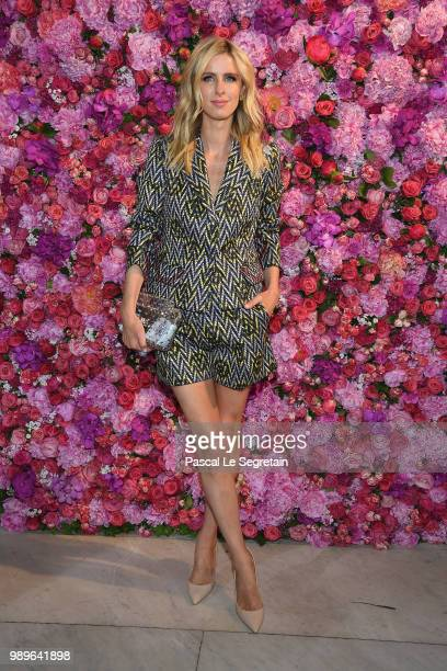 Nicky Hilton Rothschild attends the Schiaparelli Haute Couture Fall Winter 2018/2019 show as part of Paris Fashion Week on July 2 2018 in Paris France