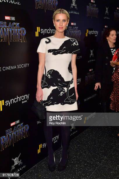 Nicky Hilton Rothschild attends the screening of Marvel Studios' 'Black Panther' hosted by The Cinema Society on February 13 2018 in New York City