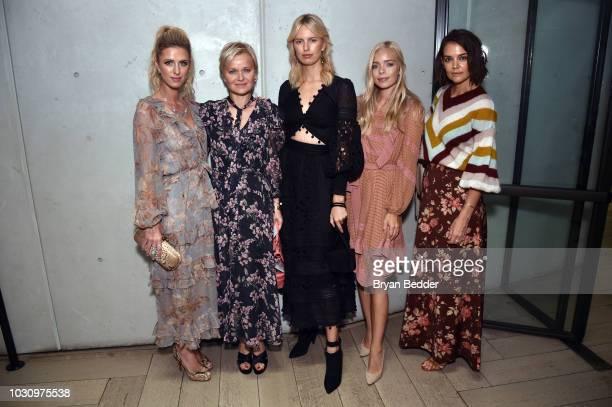 Nicky Hilton Rothschild, Dr. Barbara Sturm, Karolina Kurkova; Charly Sturm and Katie Holmes during New York Fashion Week: The Shows 2018 at Spring...