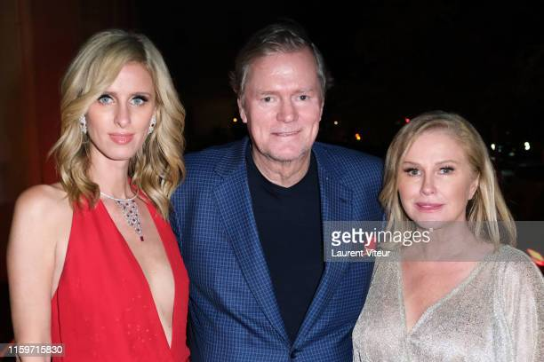 Nicky Hilton Rothschild her Father Richard Hilton and her mother Kathy Hilton attend Tod's X Alber Elbaz Happy Moments at Yoyo Palais De Tokyo on...