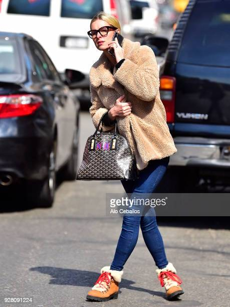 Nicky Hilton Rothschild is seen in the East Village on March 6 2018 in New York City