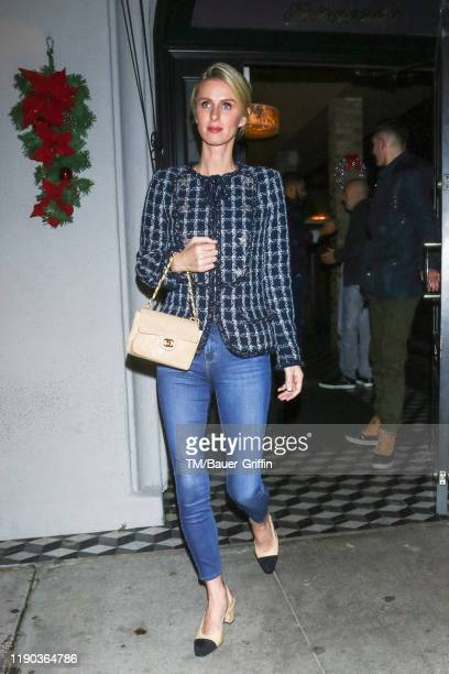Nicky Hilton Rothschild is seen on December 23, 2019 in Los Angeles, California.