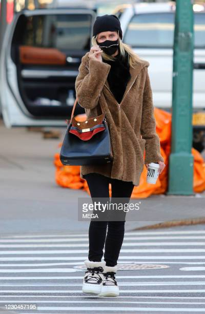 Nicky Hilton Rothschild is seen on January 6, 2021 in New York City, New York.