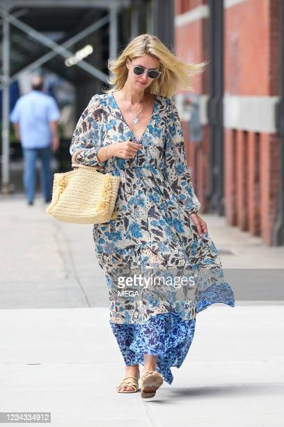 Nicky Hilton Rothschild is seen on July 29, 2021 in New York City, New York.