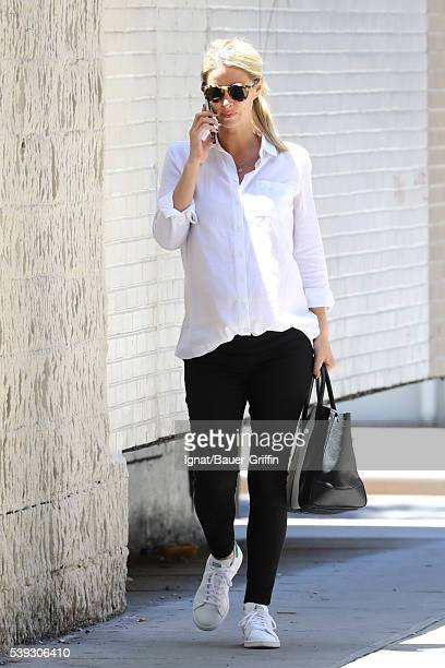Nicky Hilton Rothschild is seen on June 10 2016 in New York City
