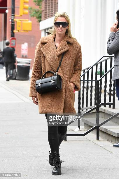 Nicky Hilton Rothschild is seen walking in Soho on May 28, 2019 in New York City.