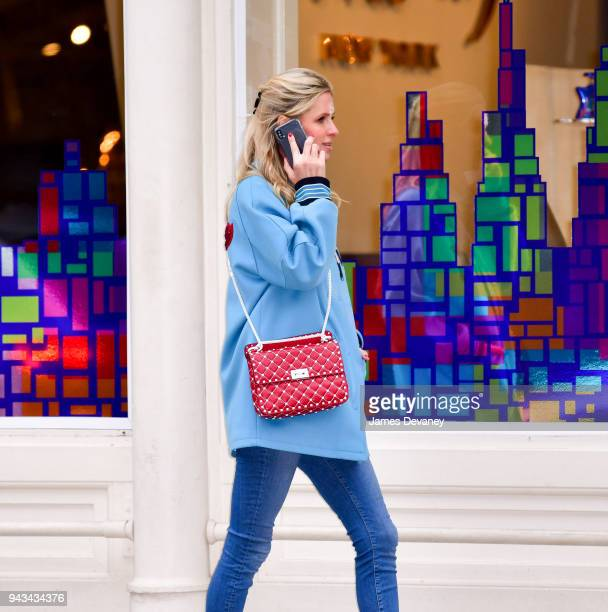 Nicky Hilton Rothschild seen on the streets of Manhattan on February 14 2018 in New York City