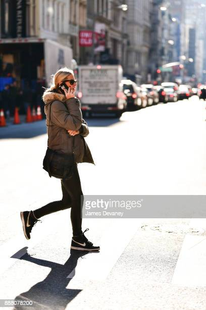 Nicky Hilton Rothschild seen on the streets of SoHo on December 7 2017 in New York City