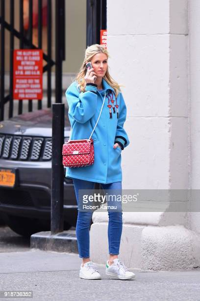 Nicky Hilton seen out and about in Manhattan on February 14 2018 in New York City