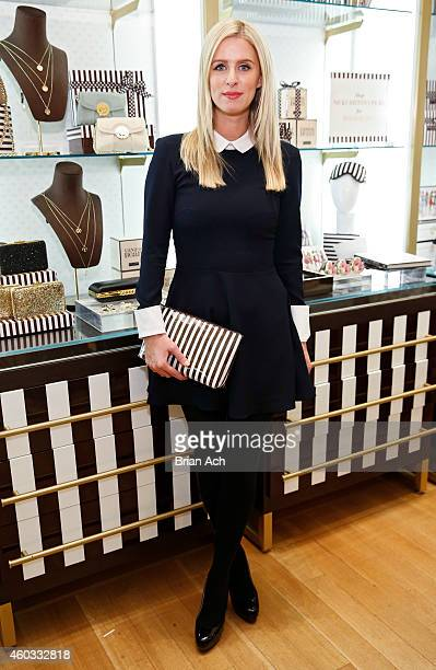 Nicky Hilton signs copies of her book '365 Style' at Henri Bendel on December 11 2014 in New York City