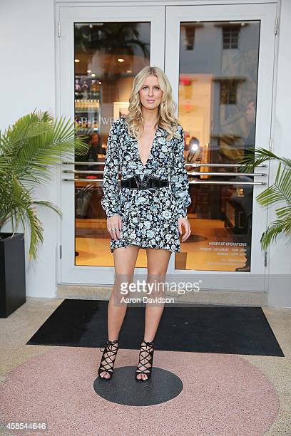 Nicky Hilton signs copies of her book 365 Style at The Webster on November 6 2014 in Miami Florida