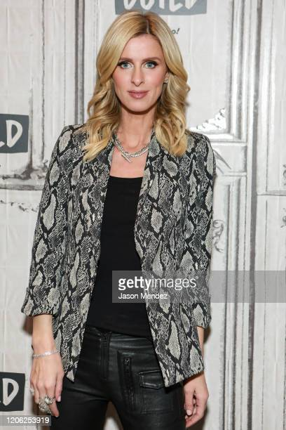 Nicky Hilton visits Build at Build Studio on March 9, 2020 in New York City.