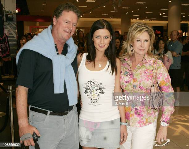 Nicky Hilton,Kathy Hilton, and Rick Hilton during Chick By Nicky Hilton to be Unveiled at Nordstroms South Coast Plaza in the Last Stop of her U.S....