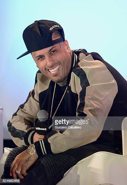 Nicky Jam attends the Billboard Latin Conference 2016 at Ritz Carlton South Beach on April 27 2016 in Miami Beach Florida