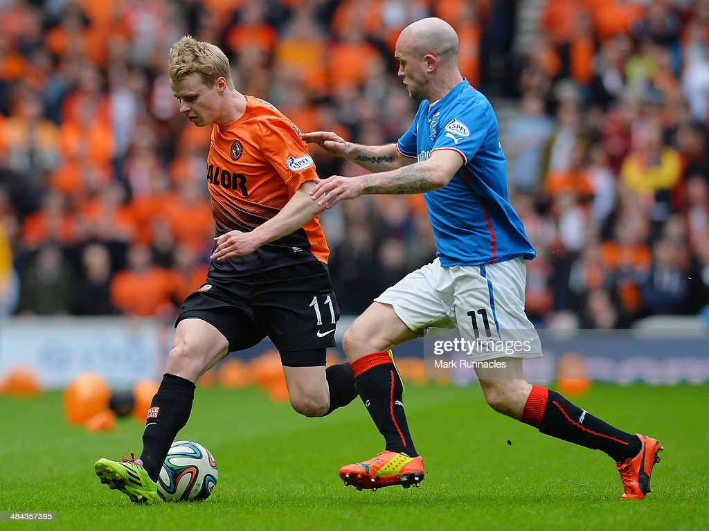 Rangers v Dundee United - The William Hill Scottish Cup Semi Final