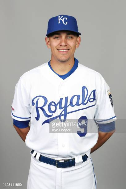 Nicky Lopez of the Kansas City Royals poses during Photo Day on Thursday February 21 2019 at Surprise Stadium in Surprise Arizona