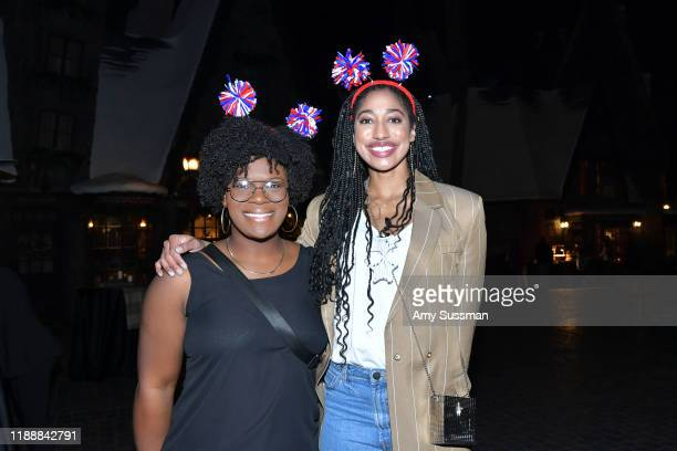 Nicky Nieves and Whitney Dosty attend the 2019 Team USA Awards at Universal Studios Hollywood on November 19 2019 in Universal City California