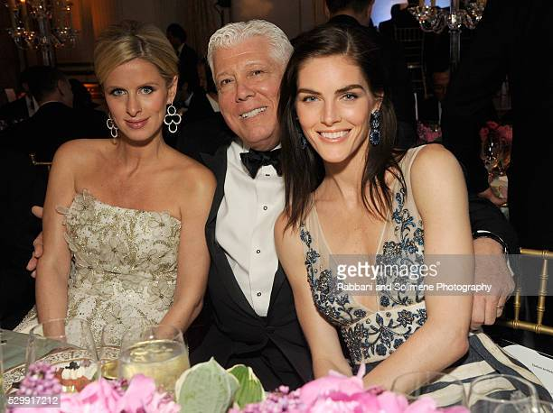 Nicky Rothschild Dennis Basso and Hilary Rhoda attend FIT's Annual Gala to Honor Dennis Basso John and Laura Pomerantz and QVC at the Grand Ballroom...