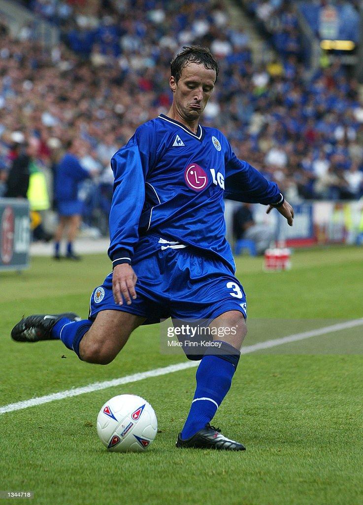 Nicky Summerbee of Leicester City in action during the Nationwide League Division One match between Leicester City and Watford at the Walkers Stadium in Leicester, England on August 10, 2002. Leicester won 2-0.