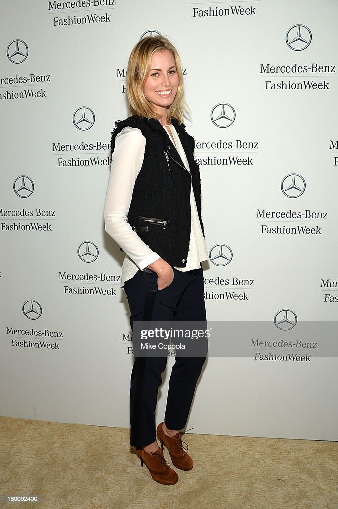 Nicky Taylor attends the Mercedes-Benz Star Lounge during Mercedes-Benz Fashion Week Spring 2014 on September 8, 2013 in New York City.