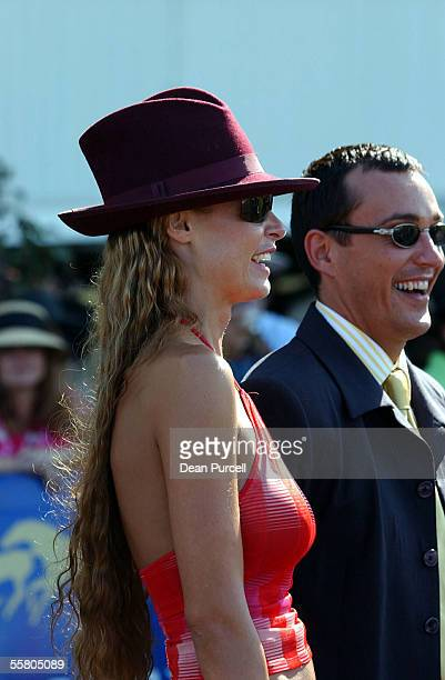 Nicky Watson enjoys the Mercedes Derby Boxing Day Races at Ellerslie Wednesday