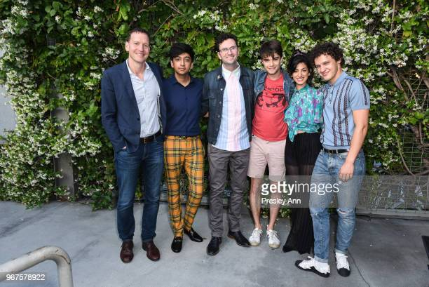 Nicky Weinstock Nik Dodani Craig Johnson Daniel Doheny Ayden Mayeri and Antonio Marziale attend Special Screening And QA For Netflix's 'Alex...