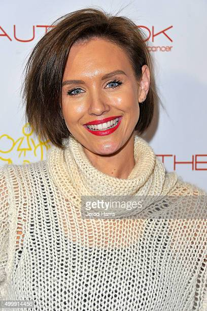 Nicky Whelan arrives at 'The Beauty Book For Brain Cancer' edition 2 launch party at Le Jardin on December 3 2015 in Hollywood California
