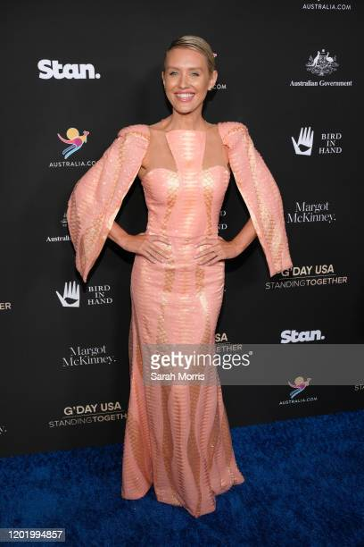 Nicky Whelan attends G'Day USA 2020 at Beverly Wilshire, A Four Seasons Hotel on January 25, 2020 in Beverly Hills, California.