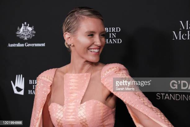 Nicky Whelan attends G'Day USA 2020 at Beverly Wilshire A Four Seasons Hotel on January 25 2020 in Beverly Hills California