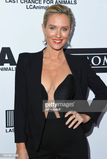 Nicky Whelan attends Last Chance For Animals' Hosts Annual Celebrity Benefit at The Beverly Hilton Hotel on October 20 2018 in Beverly Hills...