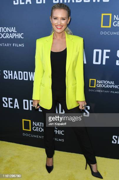Nicky Whelan attends National Geographic Documentary Films' Premiere Of Sea Of Shadows at NeueHouse Los Angeles on July 10 2019 in Hollywood...
