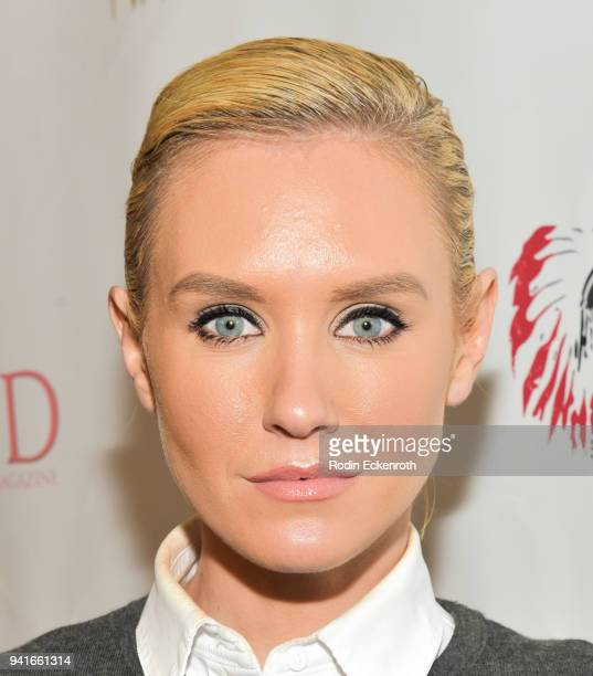 Nicky Whelan attends Regard Magazine Spring 2018 Cover Unveiling Party presented by Sony Studios featuring the cast of 'The Oath' on Crackle at...