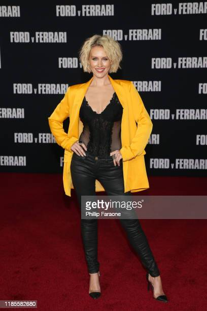 Nicky Whelan attends the premiere of FOX's Ford V Ferrari at TCL Chinese Theatre on November 04 2019 in Hollywood California