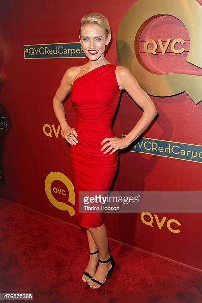 Nicky Whelan attends the QVC 5th annual red carpet style event at The Four Seasons Hotel on February 28 2014 in Beverly Hills California