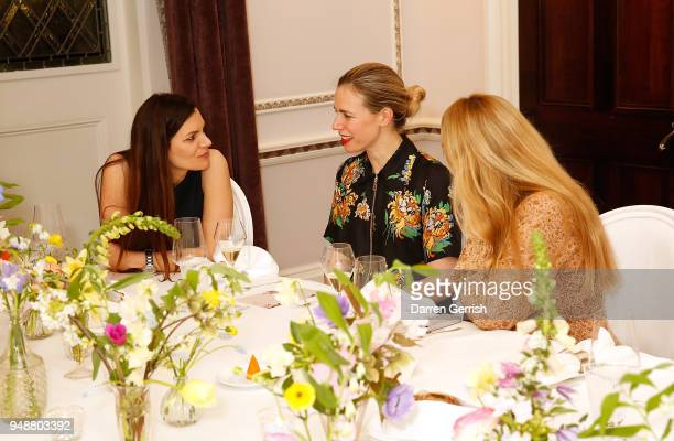 Nicky Yates attends the Boden Icons SS18 dinner at The Connaught Hotel on April 19 2018 in London England