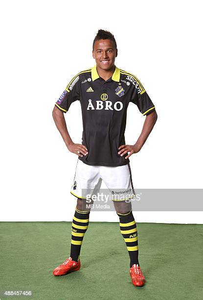 Niclas Eliasson of AIK Solna poses during a portarit session on February 24 in StockholmSweden