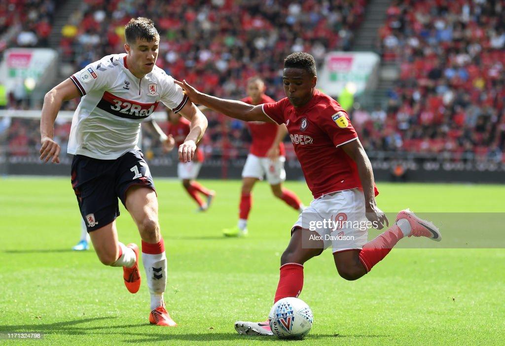 Bristol City v Middlesbrough - Sky Bet Championship : News Photo