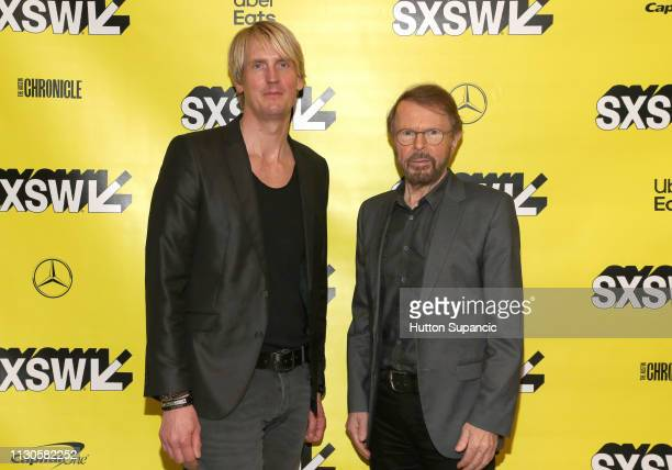 Niclas Molinder and Bjorn Ulvaeus attend Featured Session Creator Credits Providing the Missing Links during the 2019 SXSW Conference and Festivals...