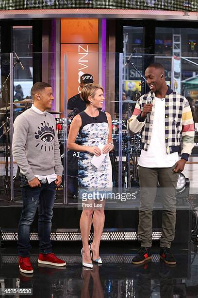 AMERICA Nico and Vinz perform live on Good Morning America 7/22/14 airing on the Walt Disney Television via Getty Images Television Network