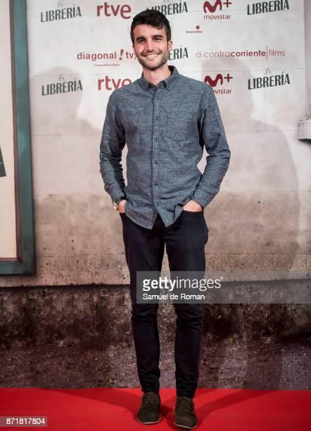 Nico Casal attends 'La Libreria' premiere on November 8 2017 in Madrid Spain