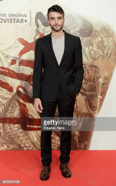 Nico Casal attends the 'Felix' premiere at Callao cinema on April 4 2018 in Madrid Spain