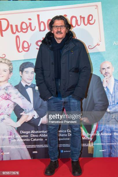 Nico Colonna attends a photocall for 'Puoi Baciare Lo Sposo' on February 28 2018 in Milan Italy
