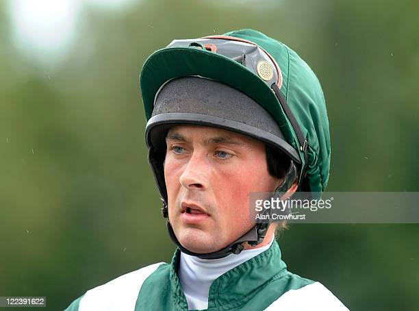 Nico de Boinville at Goodwood racecourse on August 28 2011 in Chichester England