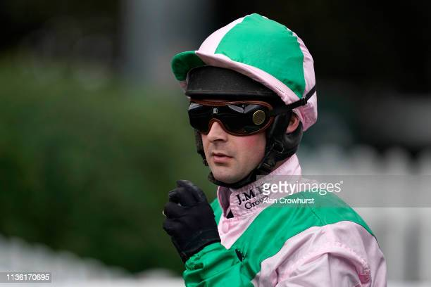 Nico de Boinville poses at Kempton Park on March 16 2019 in Sunbury England
