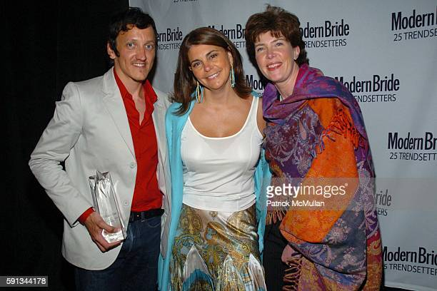 "Nico de Swert, Antonia van der Meer and Elizabeth Allen attend Modern Bride Celebrates ""25 Trendsetters of The Year"" Awards at The Ritz Carlton on..."
