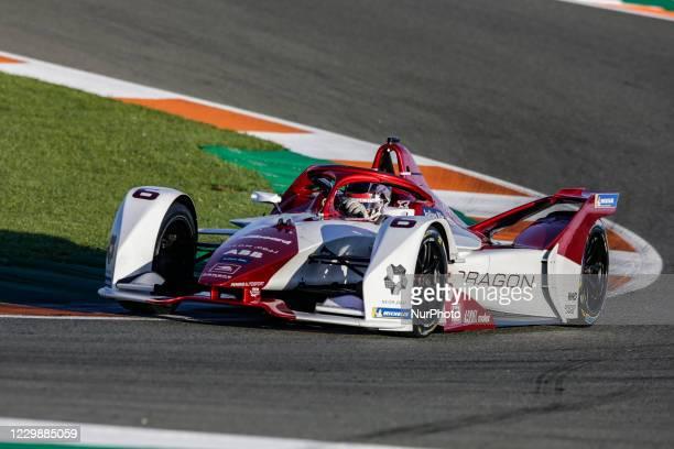 Nico , Dragon / Penske Autosport, Penske EV-5, action during the ABB Formula E Championship official pre-season test at Circuit Ricardo Tormo in...