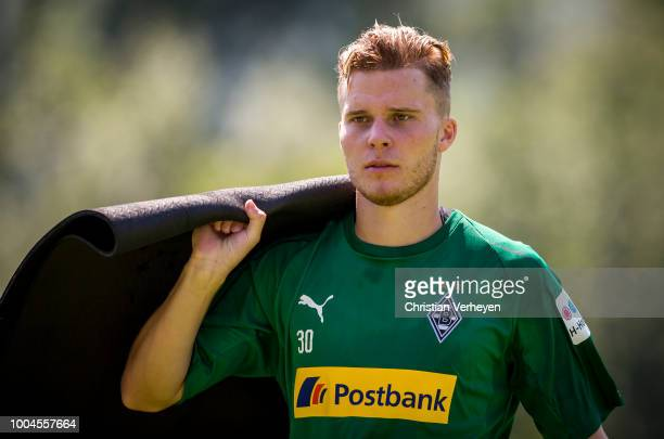 Nico Elvedi during a Training Session at Borussia Moenchengladbach Training Camp at Stadion am Birkenmoos on July 24 2018 in RottachEgern Germany