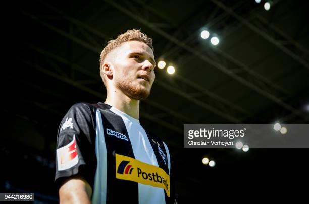 Nico Elvedi of Borussia Moenchengladbach during the Bundesliga match between Borussia Moenchengladbach and Hertha BSC at BorussiaPark on April 07...