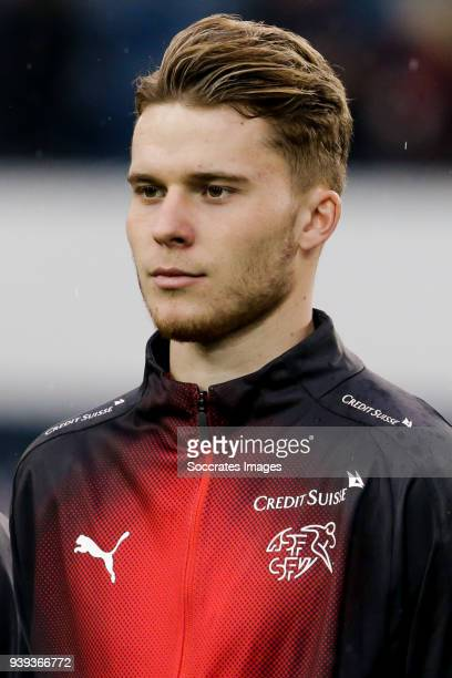 Nico Elvedi of Switzerland during the International Friendly match between Switzerland v Panama at the Luzern Arena on March 27 2018 in Luzern...